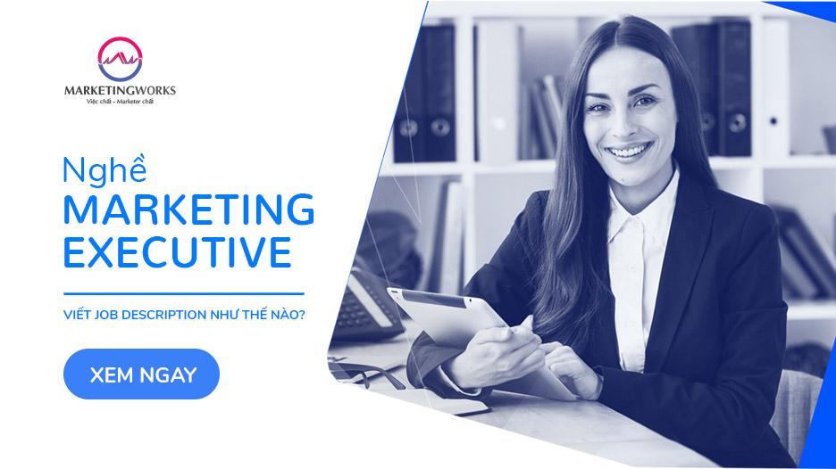 nghề Marketing Executive
