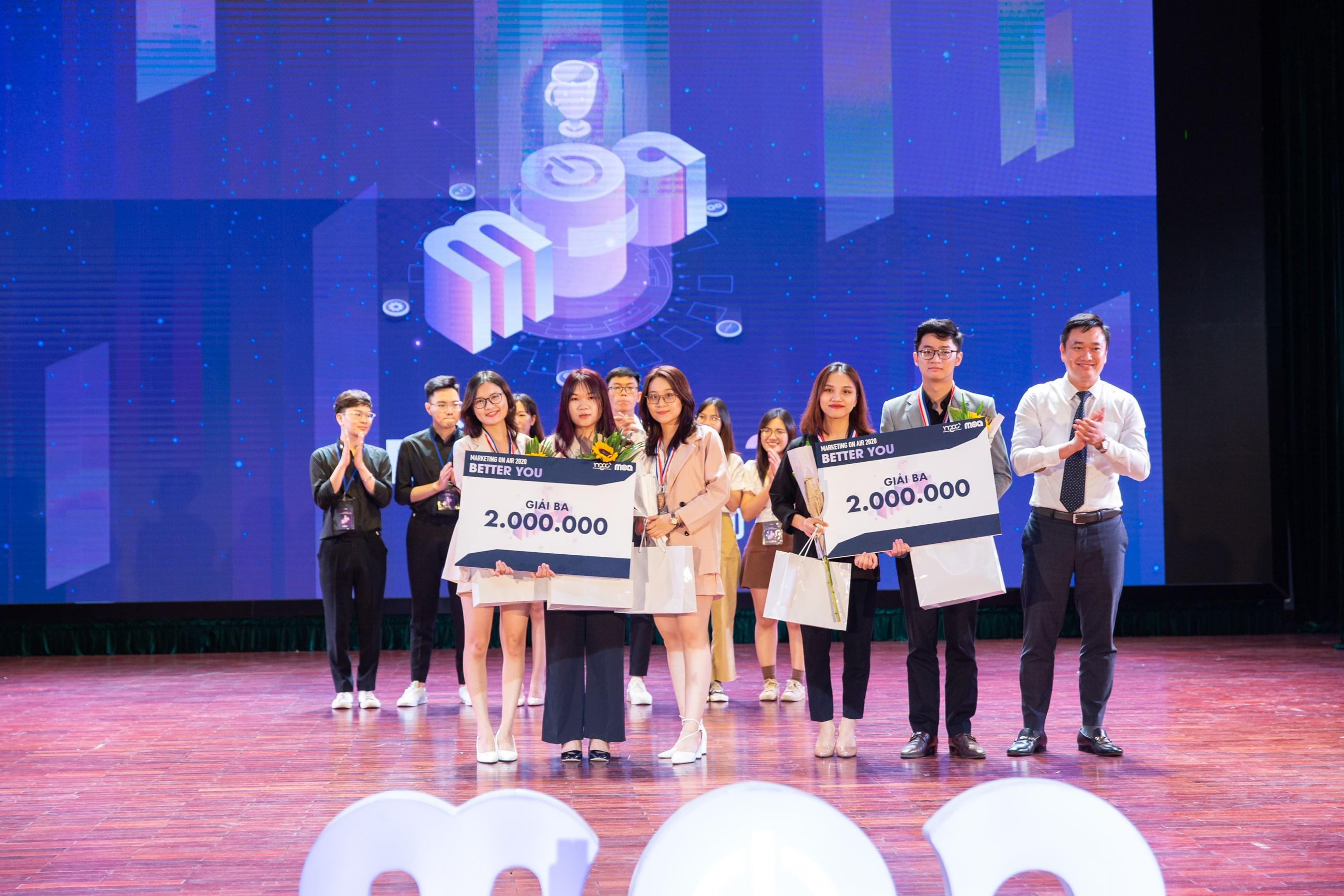 Giải 3 Marketing On Air 2020 mùa 4