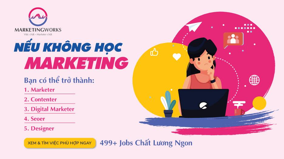 Học trái ngành có làm Marketing được không?