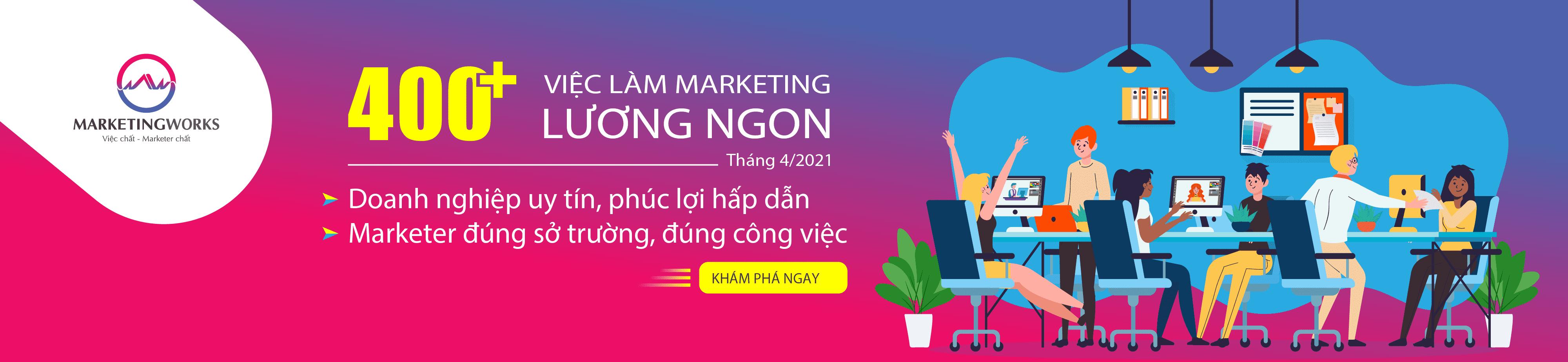Trang tìm việc làm Marketing